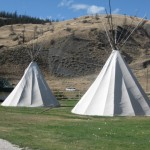 Teepees you could stay in for the night